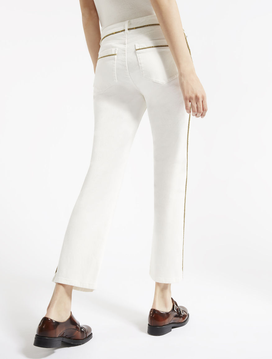 Stretch cotton jeans Weekend Maxmara