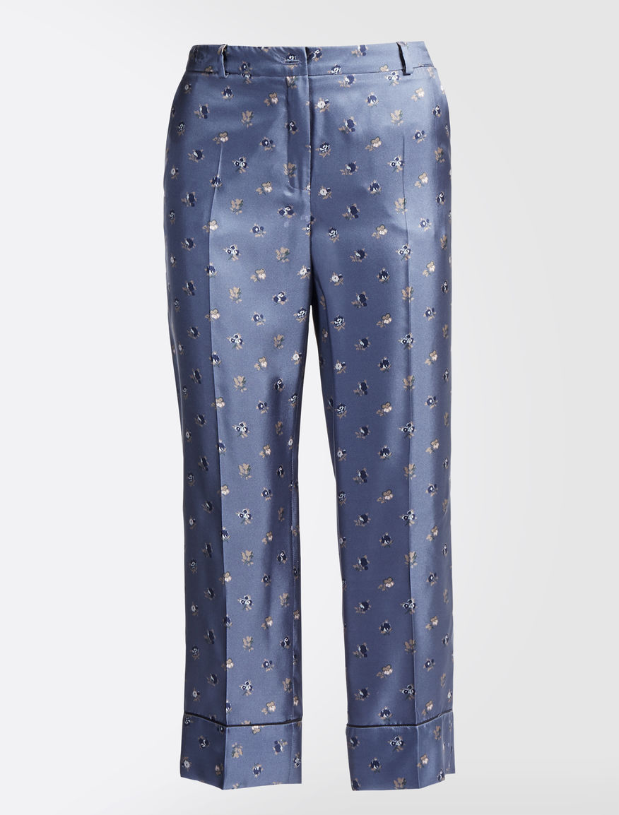Silk twill trousers Weekend Maxmara