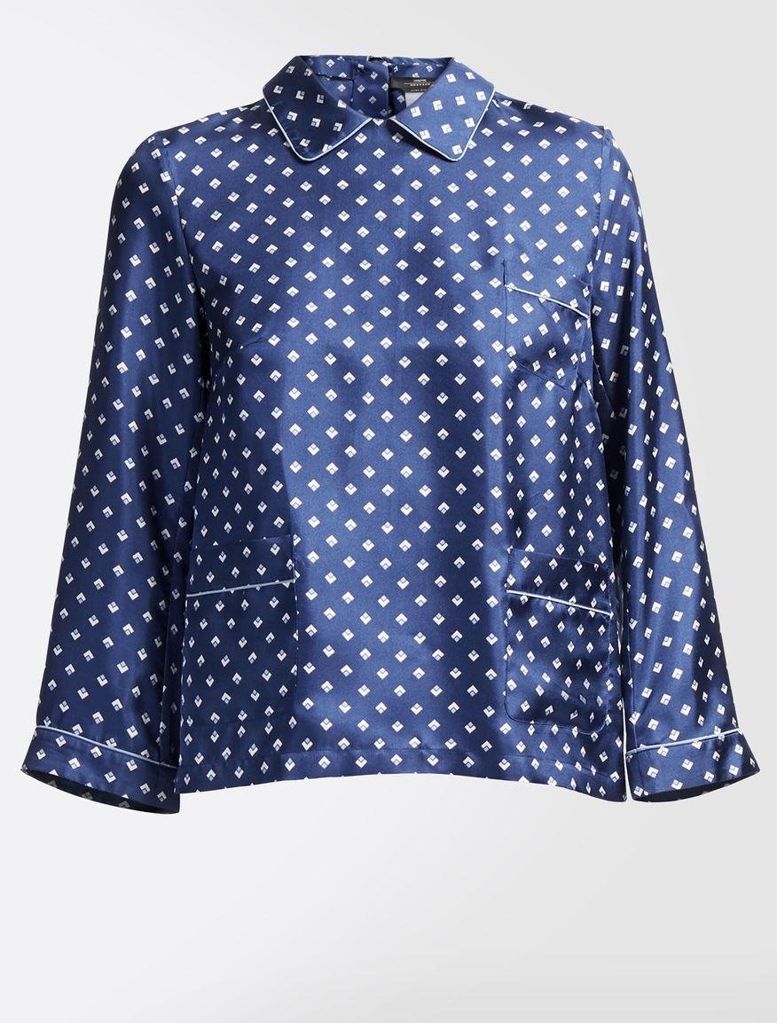 Silk twill blouse Weekend Maxmara