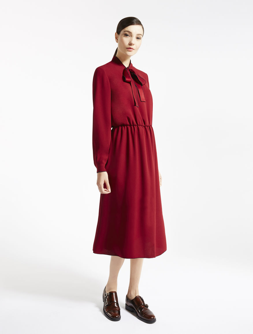 Viscose sablé dress Weekend Maxmara