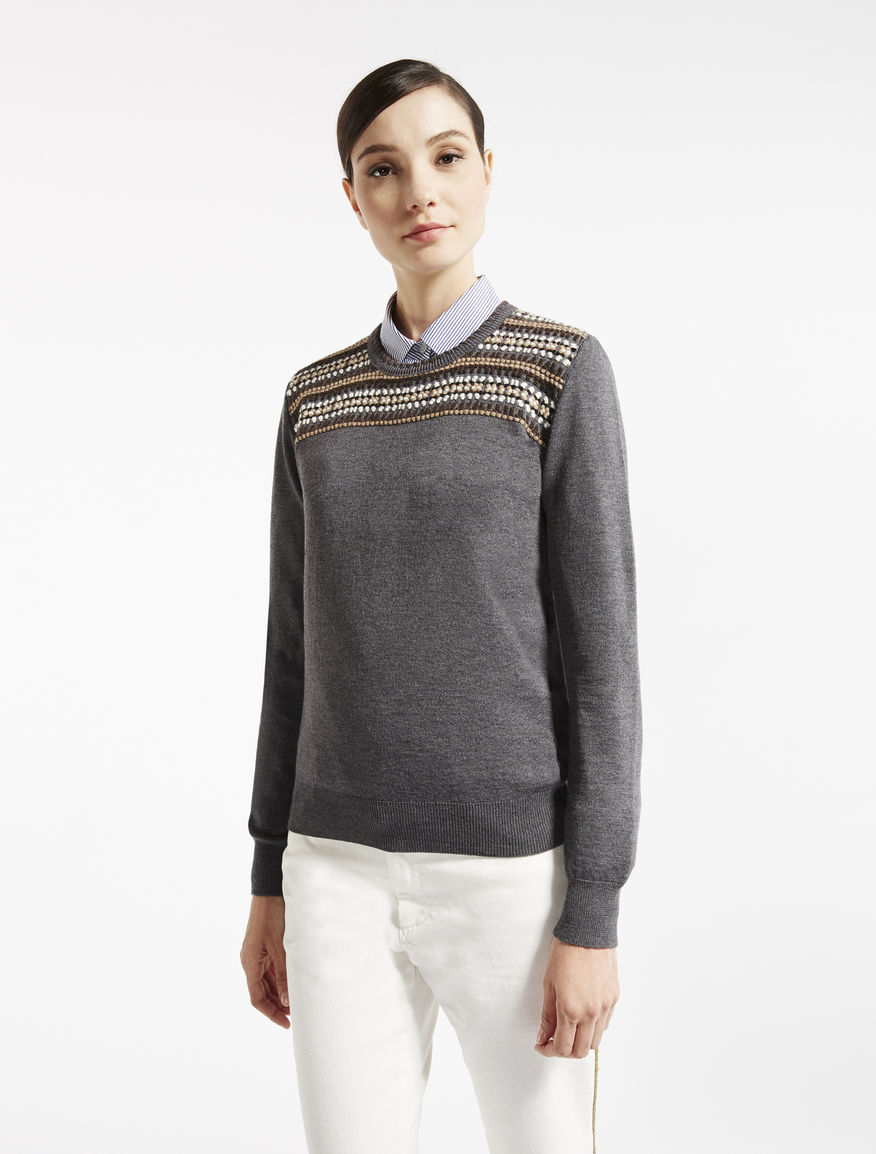 Pure wool knit shirt Weekend Maxmara