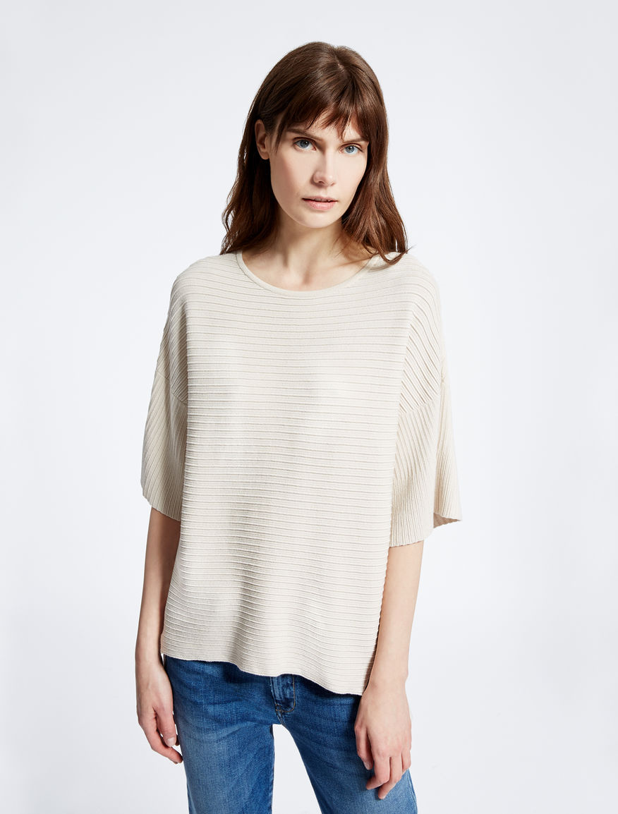 Viscose ottoman sweater Weekend Maxmara