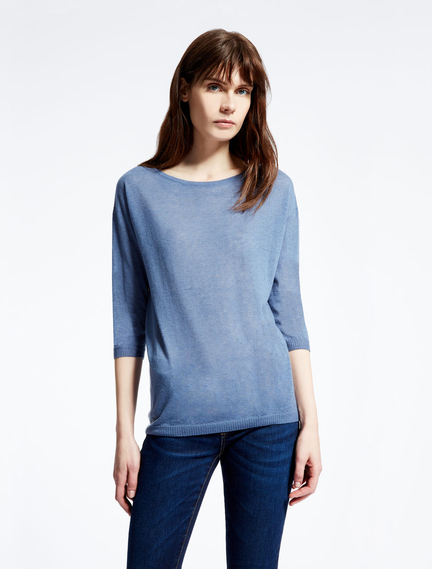 Pure cashmere knit shirt Weekend Maxmara