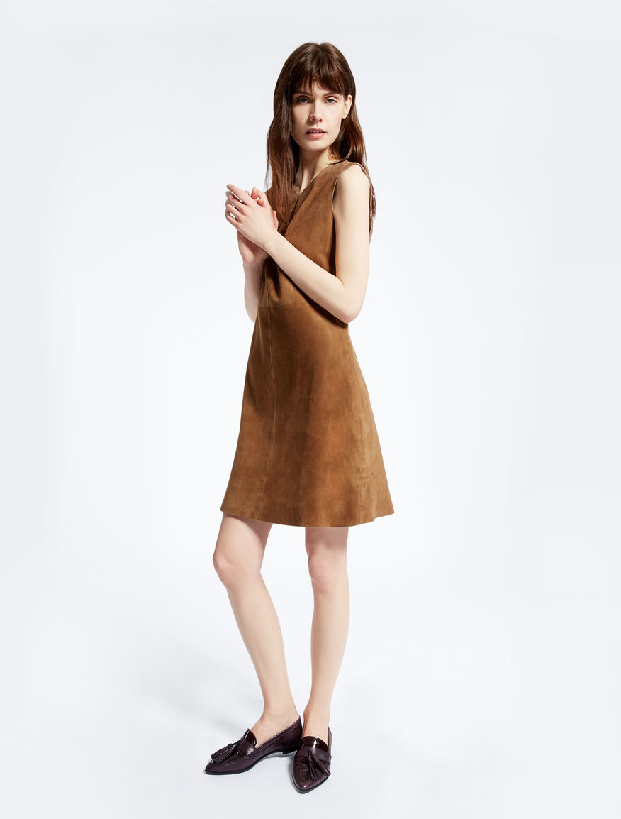 Leather dress Weekend Maxmara