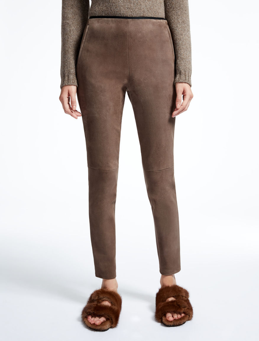 Leather trousers Weekend Maxmara