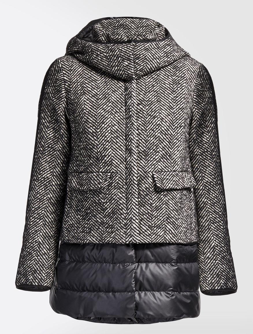 Wool and cotton down jacket Weekend Maxmara