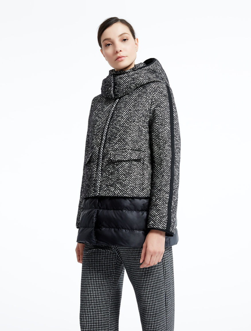 Wool and cotton down jacket Weekend Maxmara