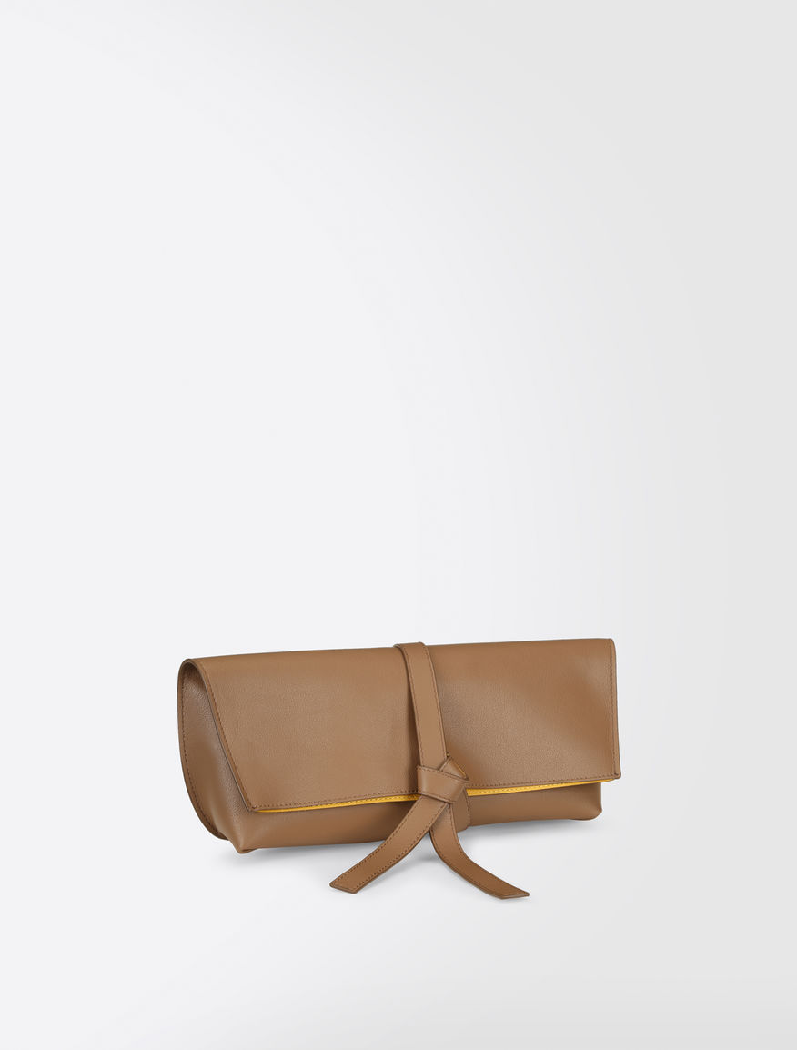 Reversible leather clutch bag Weekend Maxmara