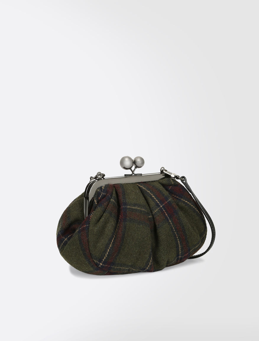 Tartan Pasticcino Bag Weekend Maxmara