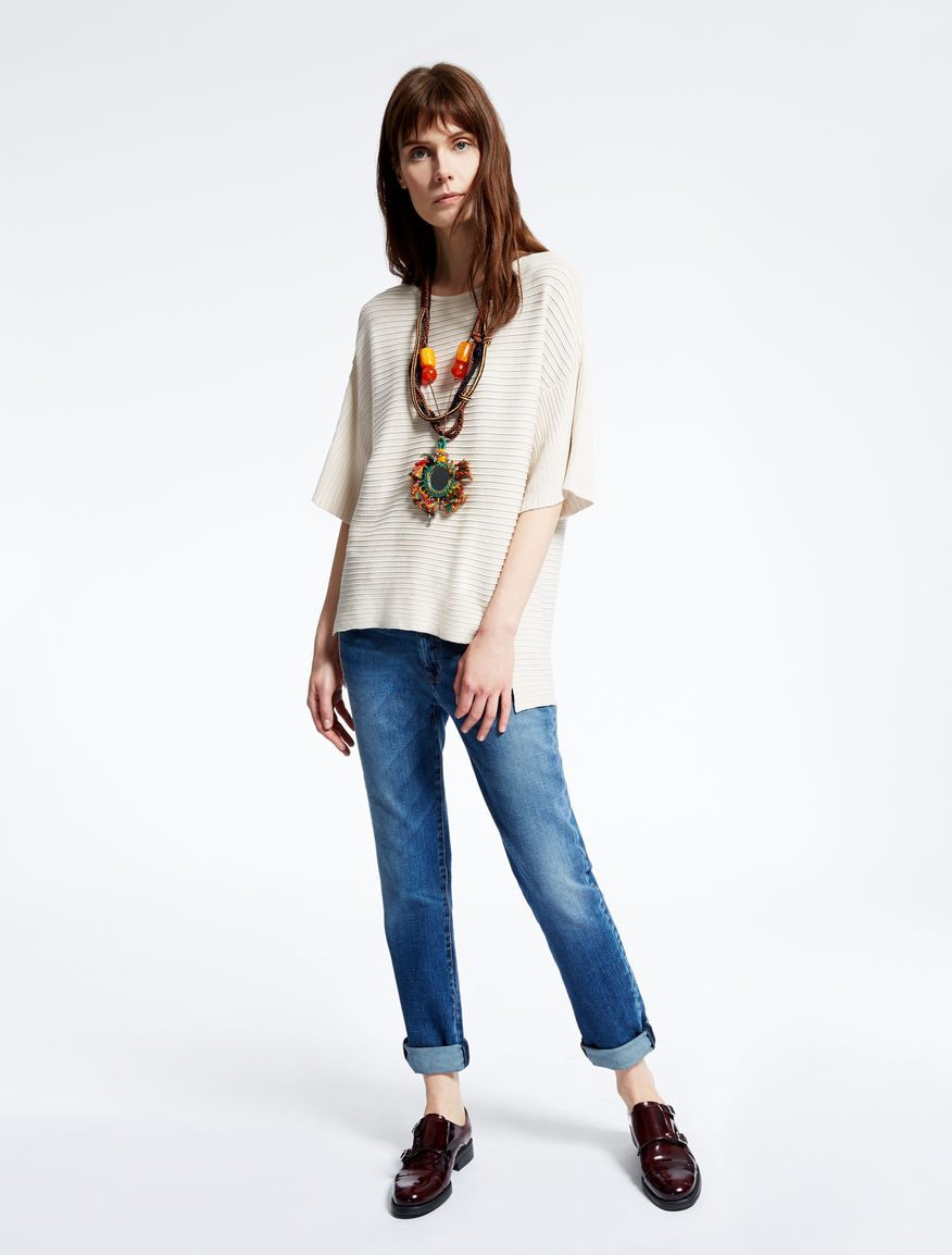 Cotton cord and resin necklace Weekend Maxmara