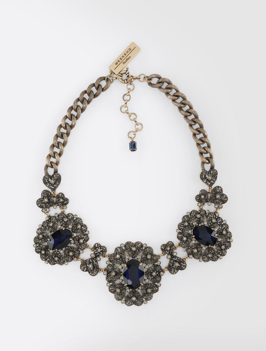 Metal and stone necklace Weekend Maxmara