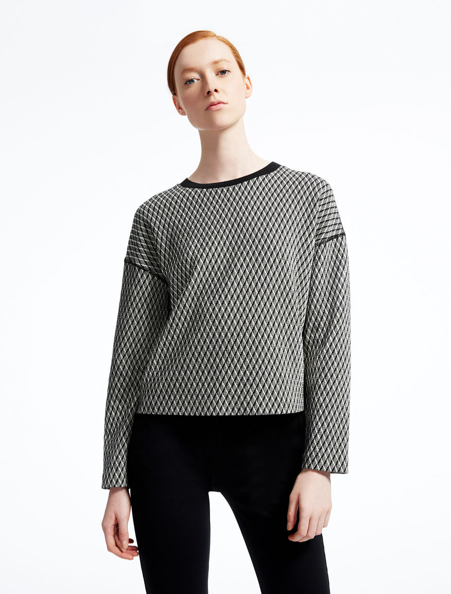 Jacquard wool sweatshirt Weekend Maxmara