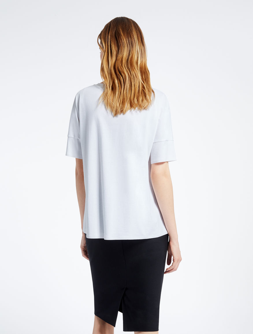 Pure cotton T-shirt Weekend Maxmara