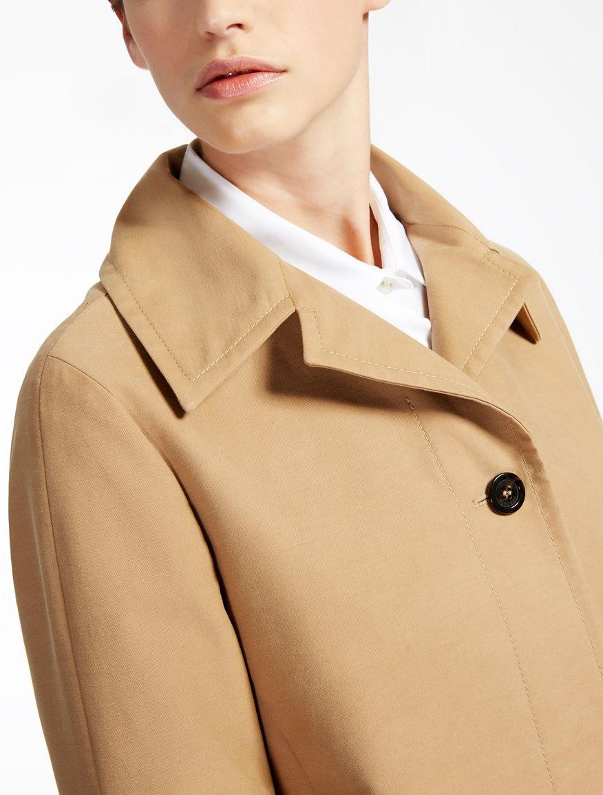 Cotton gabardine coat Weekend Maxmara