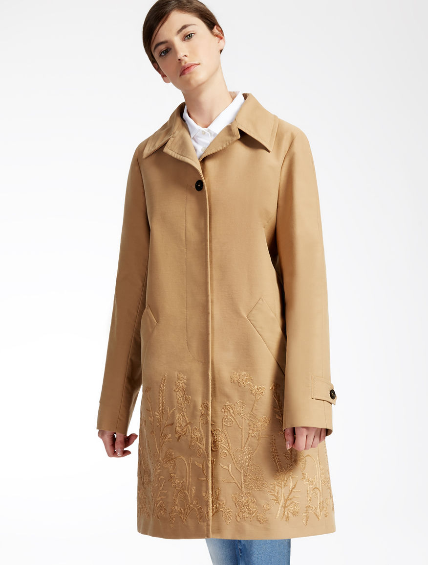 Cotton gabardine coat Weekend Maxmara