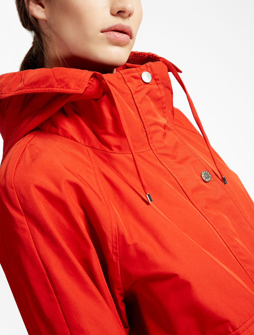 Drop-proof taffeta raincoat Weekend Maxmara