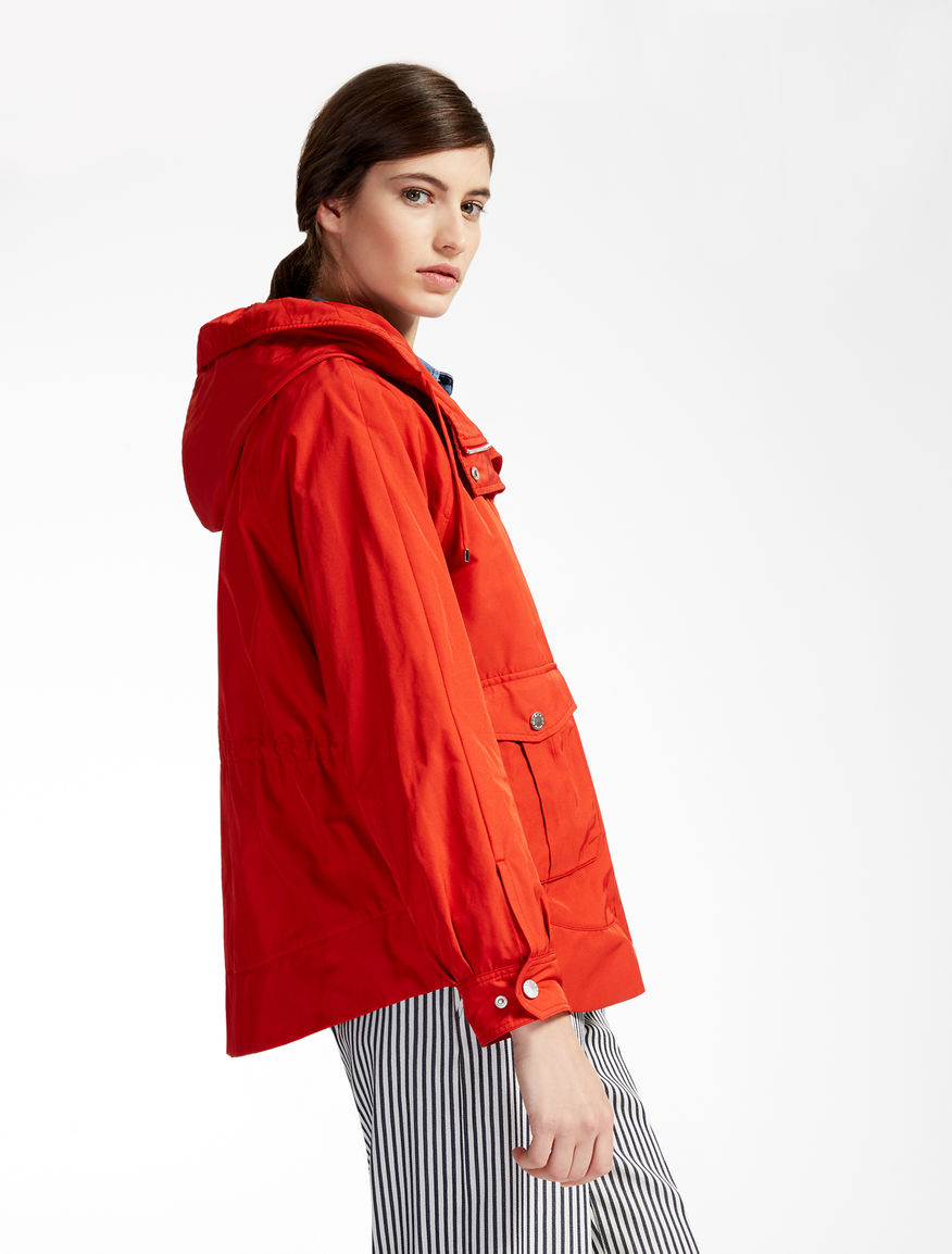 Drop-proof taffeta raincoat Weekend Maxmara