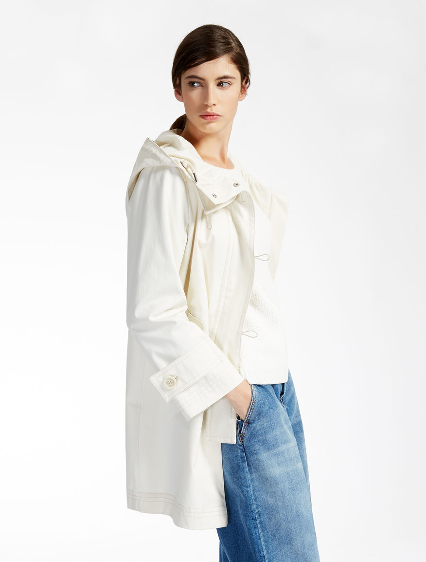 Cotton raincoat Weekend Maxmara