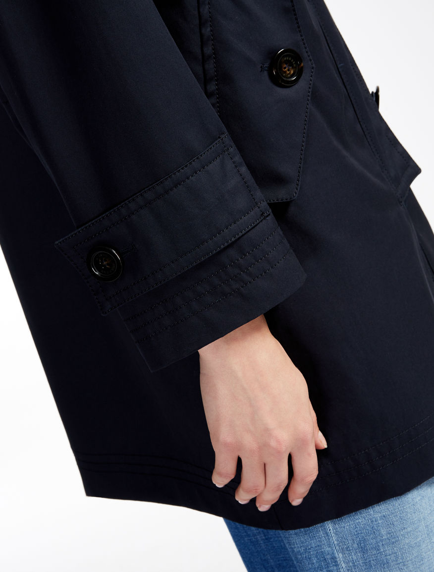 Cotton raincoat Weekend Maxmara