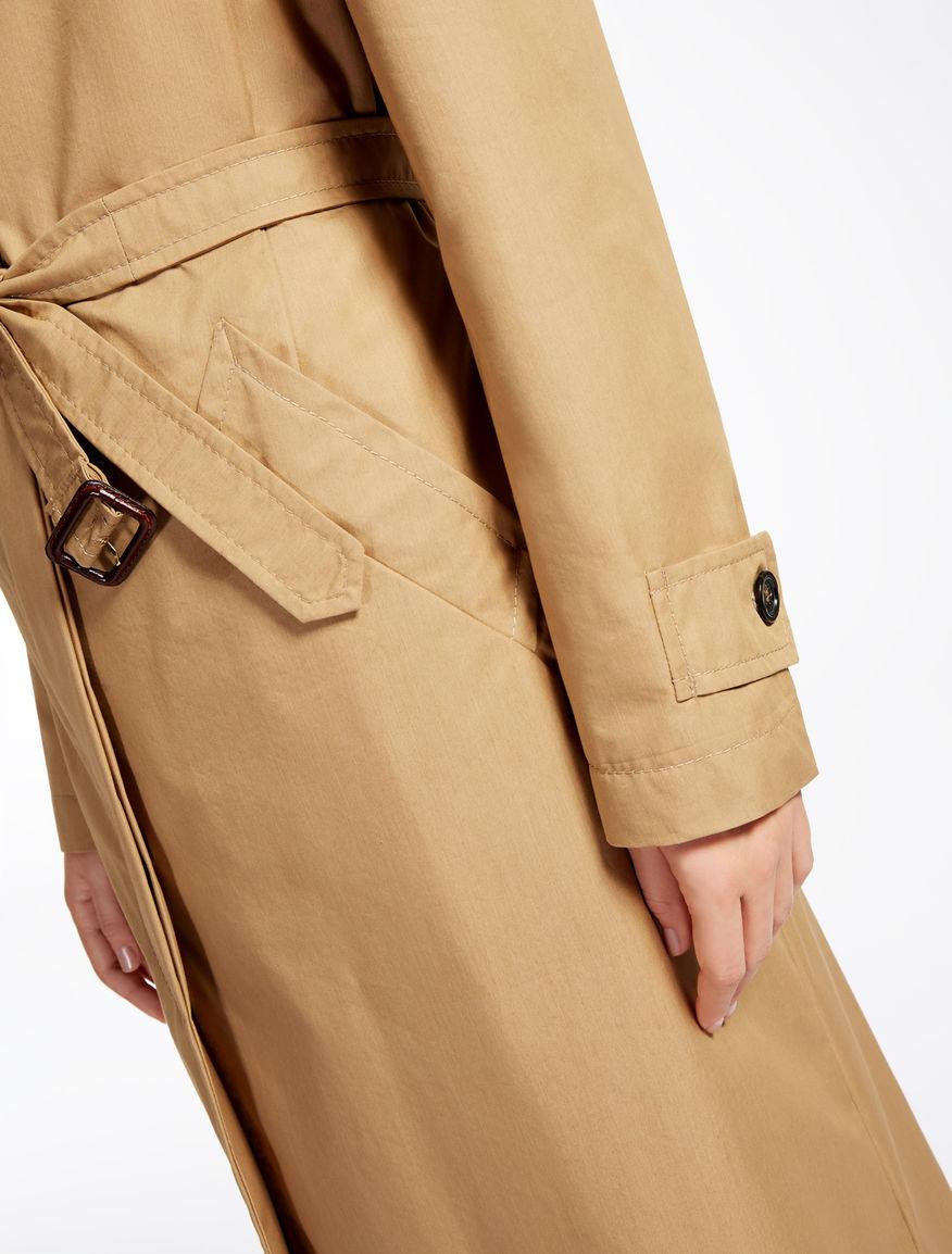Drop-proof cotton trench coat Weekend Maxmara