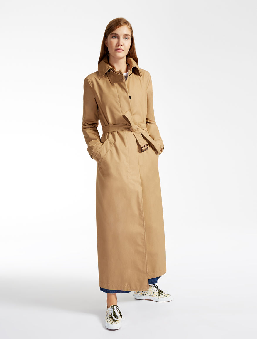 Drop-proof cotton trench coat Weekend Maxmara