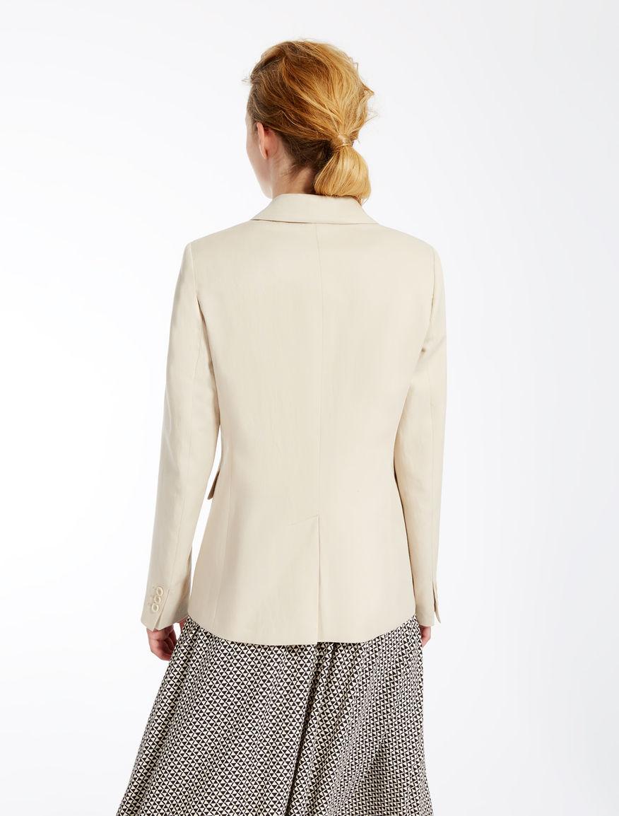 Linen and cotton jacket Weekend Maxmara