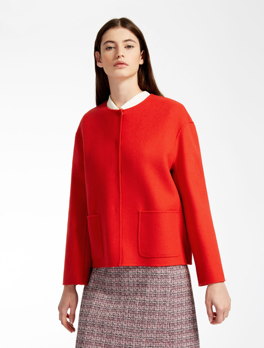 Wool broadcloth jacket Weekend Maxmara