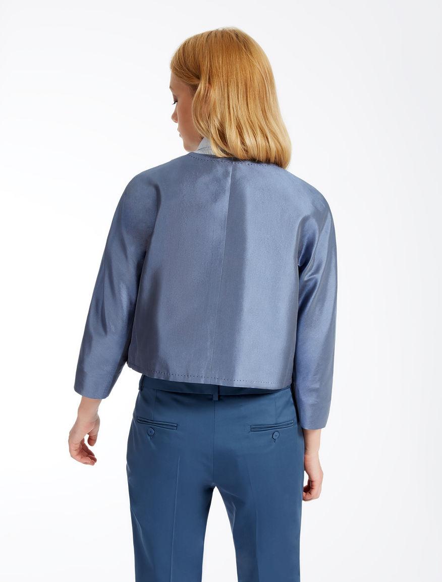 Cotton and silk jacket Weekend Maxmara