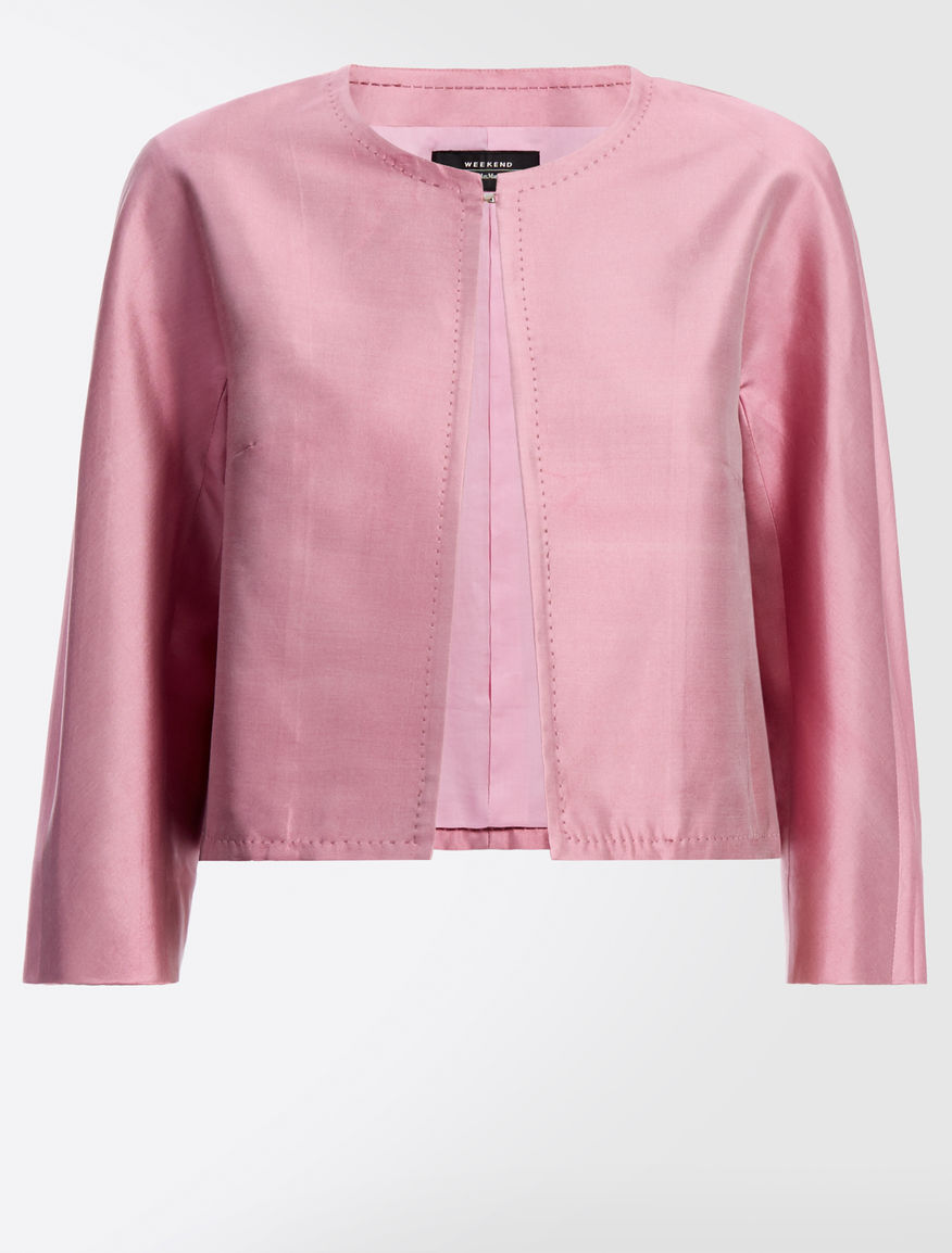 Cotton and silk jacket Weekend Maxmara