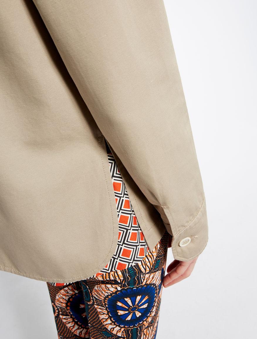 Cotton and linen jacket Weekend Maxmara