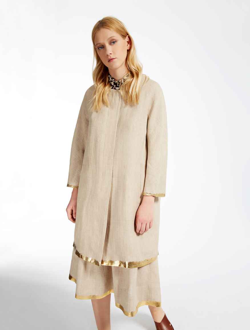 Linen duster coat Weekend Maxmara