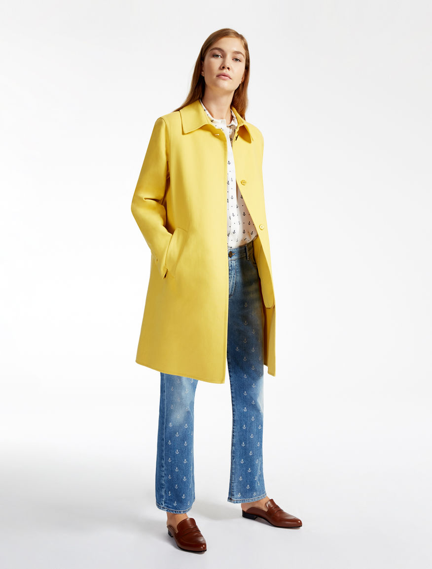 Cotton coat Weekend Maxmara