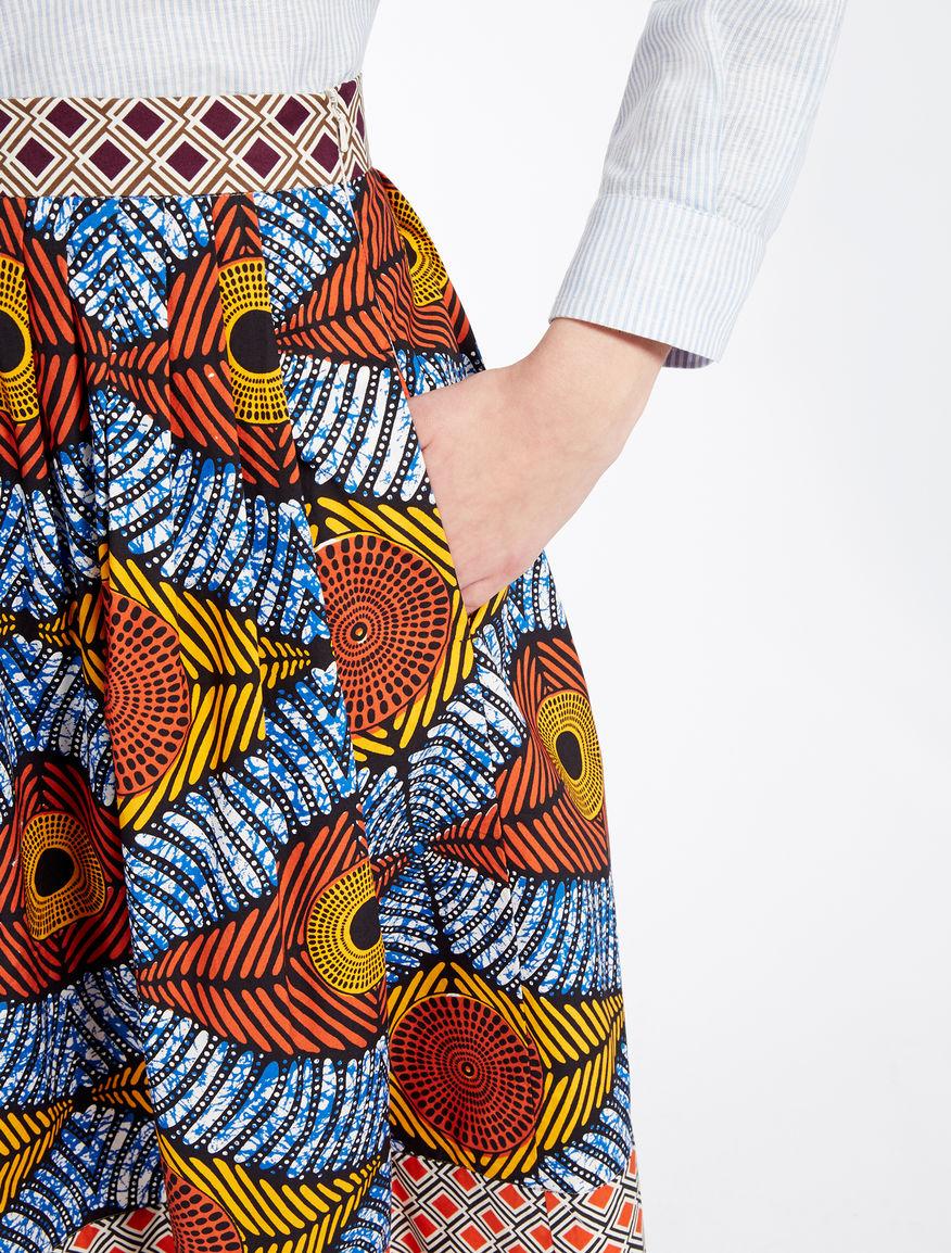 Cotton poplin skirt Weekend Maxmara