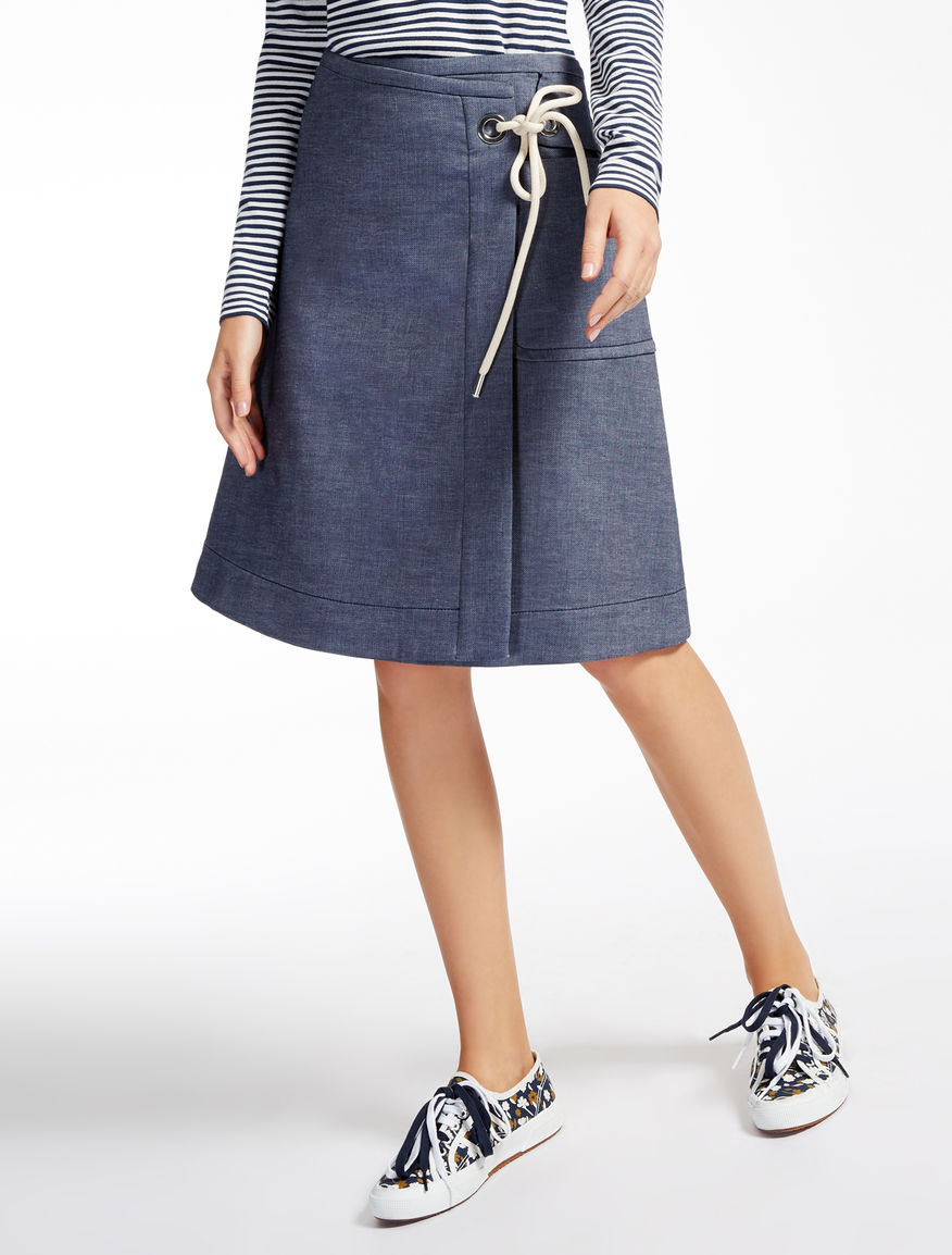 Cotton blend skirt Weekend Maxmara