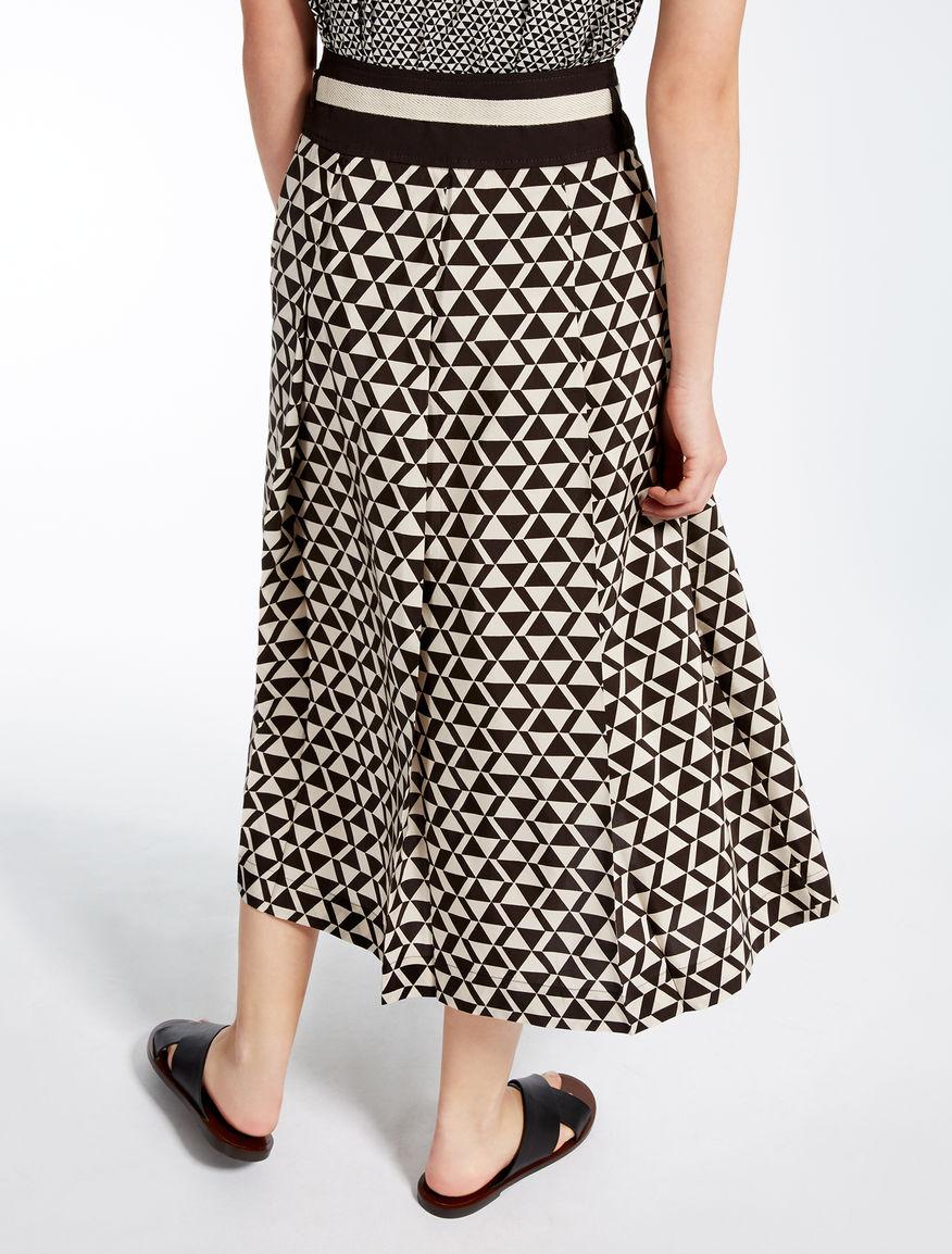 Cotton and silk skirt Weekend Maxmara
