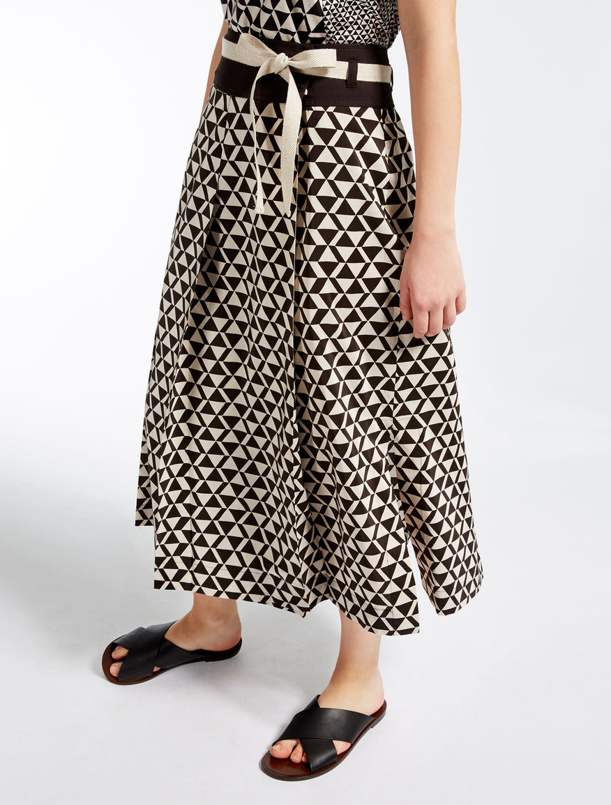 Cotton and silk skirt Weekend Maxmara