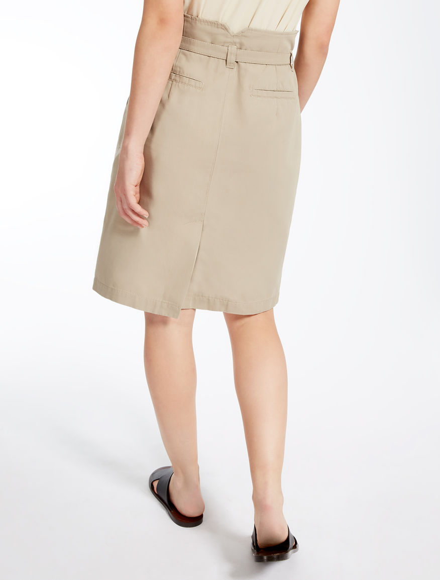 Cotton and linen skirt Weekend Maxmara