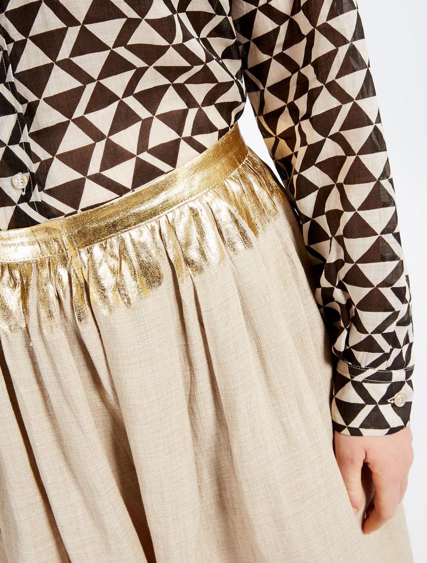 Linen skirt Weekend Maxmara