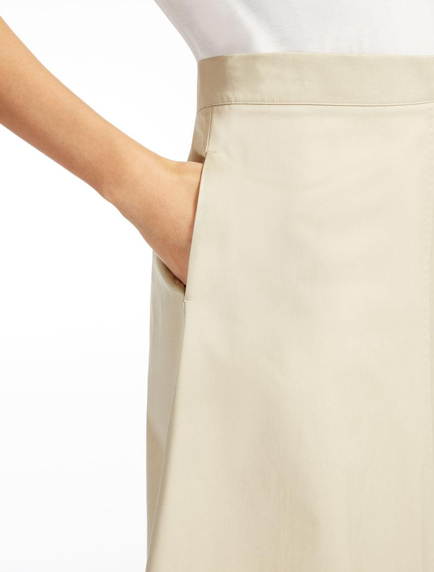 Stretch gabardine skirt Weekend Maxmara