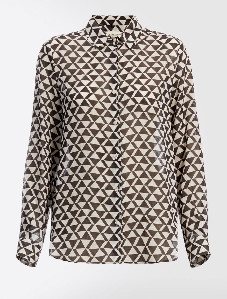 Ramie canvas shirt Weekend Maxmara