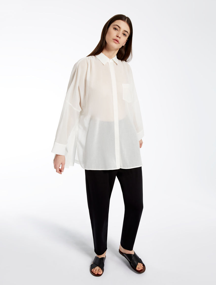 Cotton voile shirt Weekend Maxmara