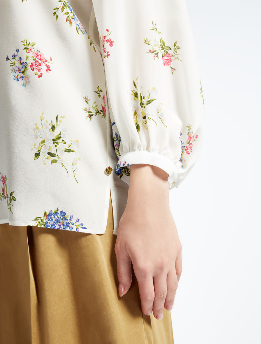 Pure silk blouse Weekend Maxmara