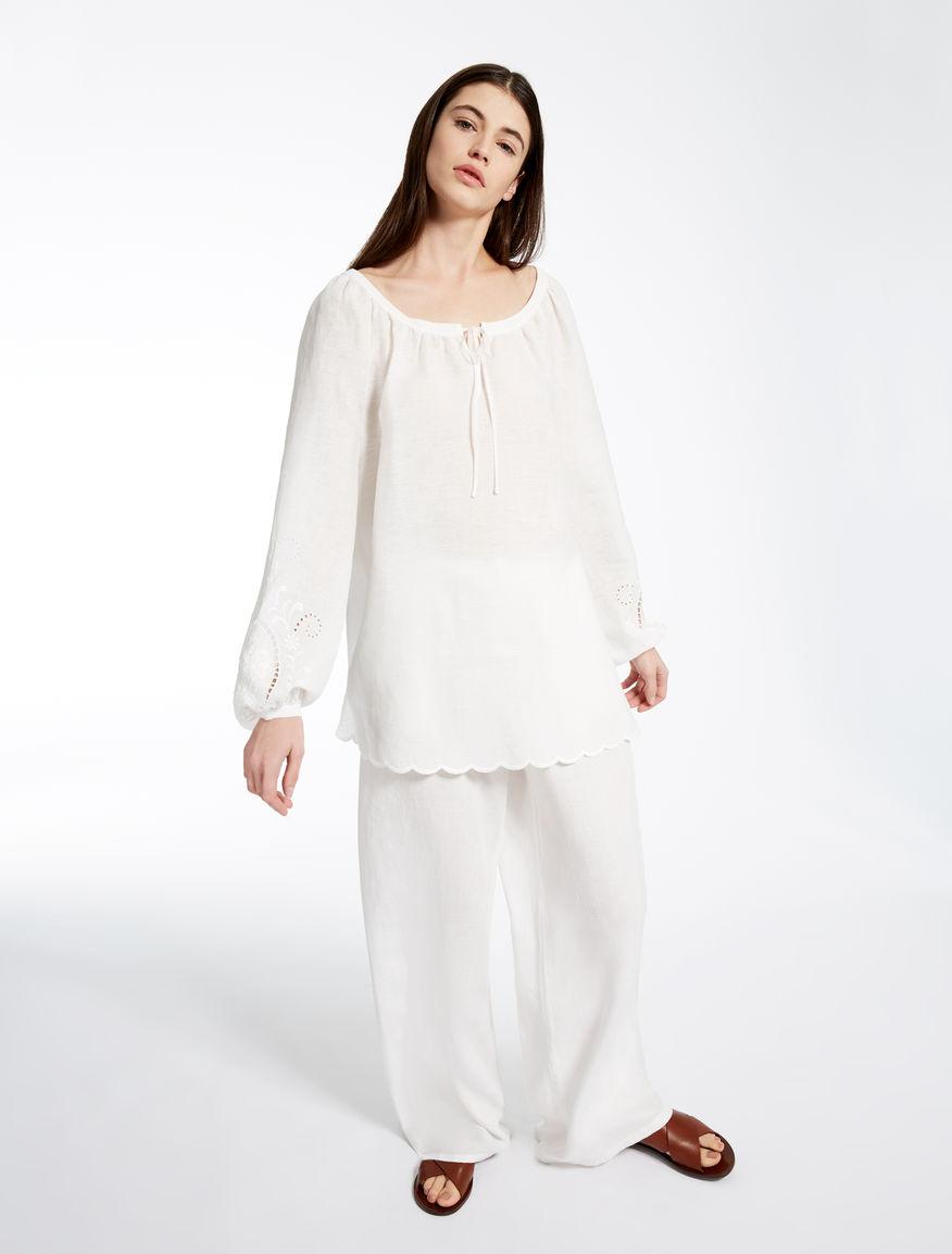 Pure linen trousers Weekend Maxmara