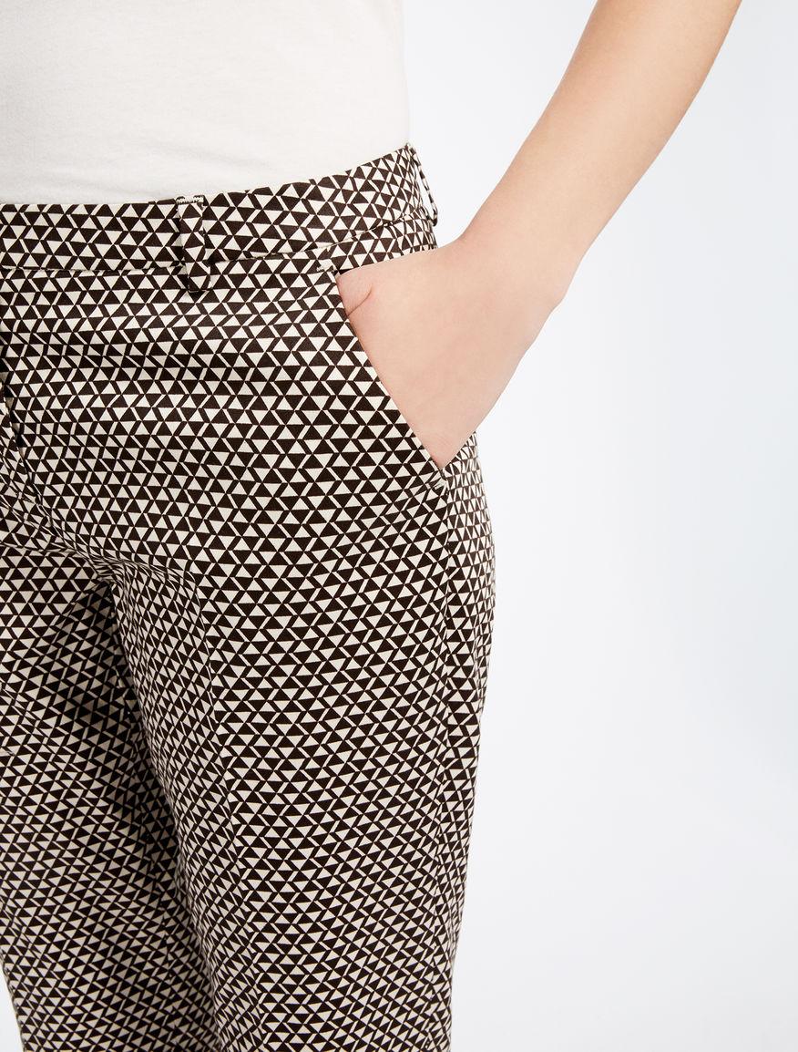 Cotton satin trousers Weekend Maxmara