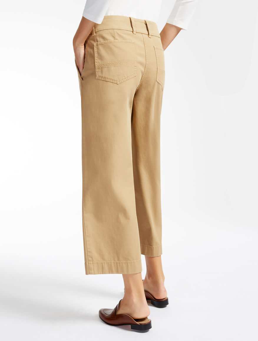 Stretch cotton trousers Weekend Maxmara