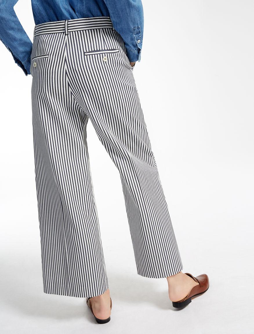 Cotton blend trousers Weekend Maxmara