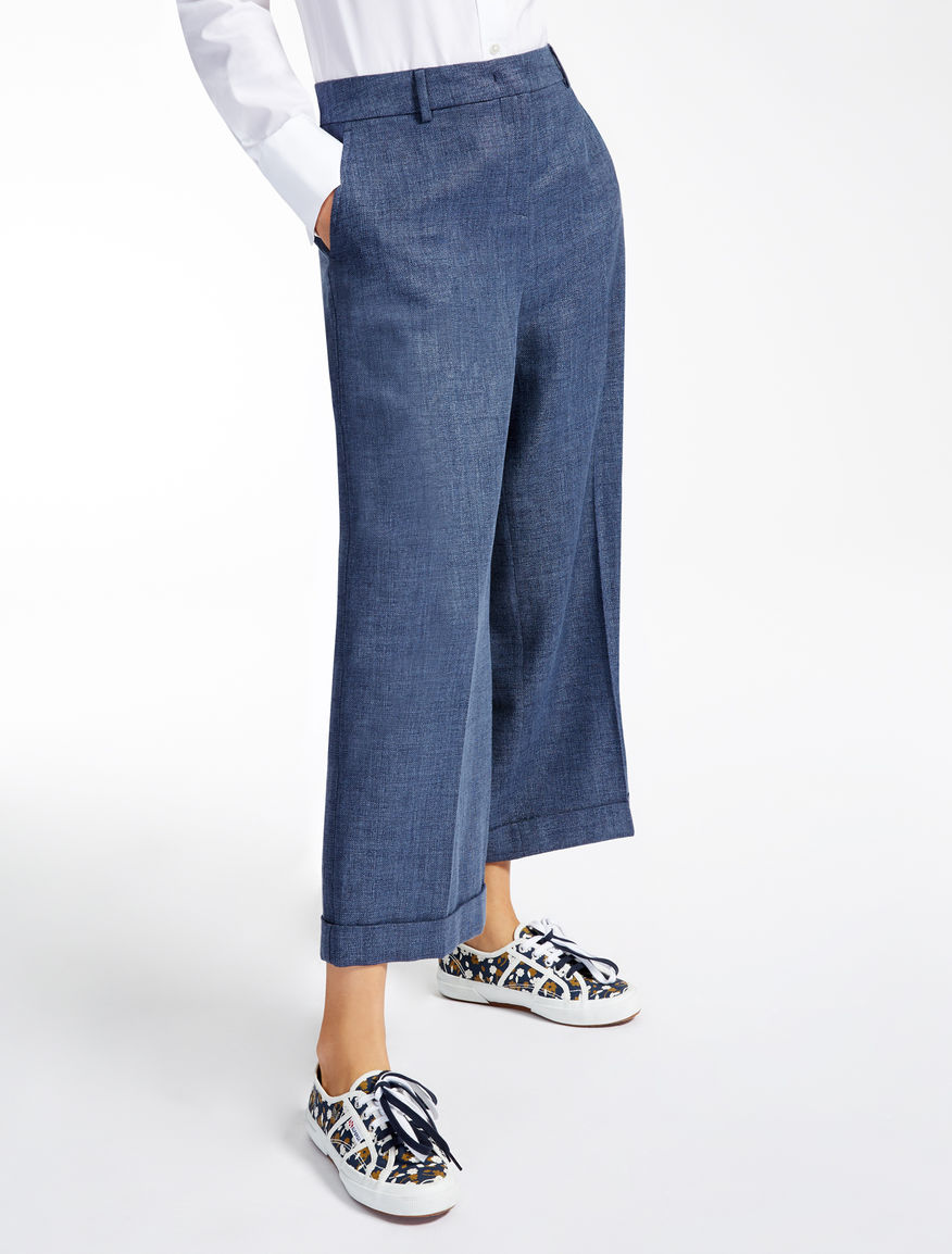 Pantaloni in lana Weekend Maxmara