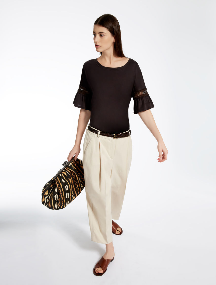 Linen and cotton trousers Weekend Maxmara