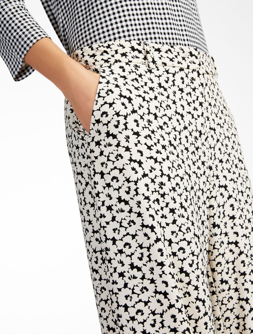 Printed cady trousers Weekend Maxmara