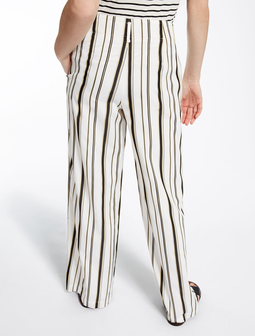 Viscose and cotton trousers Weekend Maxmara
